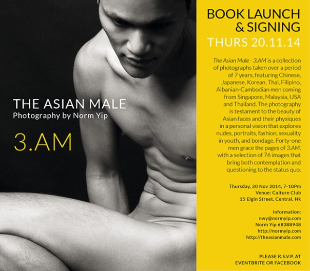 The Asian Male 3.AM book launch and signing